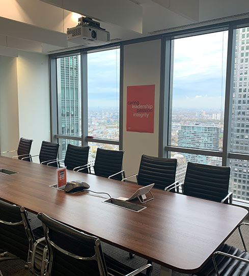 London - meeting room